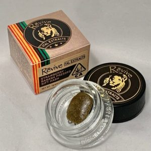 Strawberry-Banana Pressed Sift Hash by Revive Pure Life